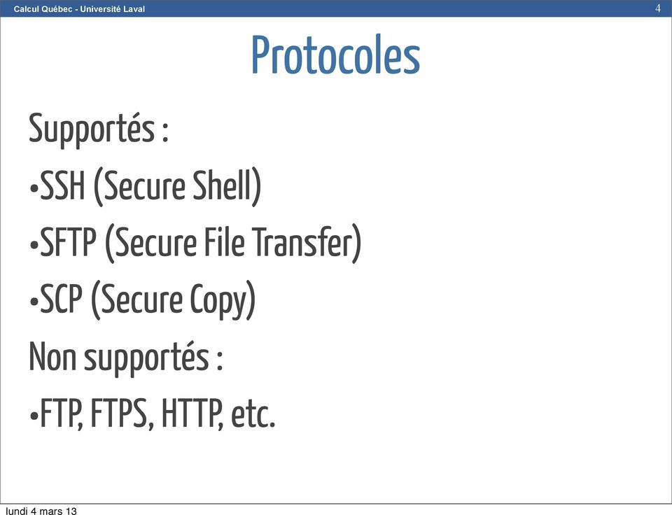 File Transfer) SCP (Secure