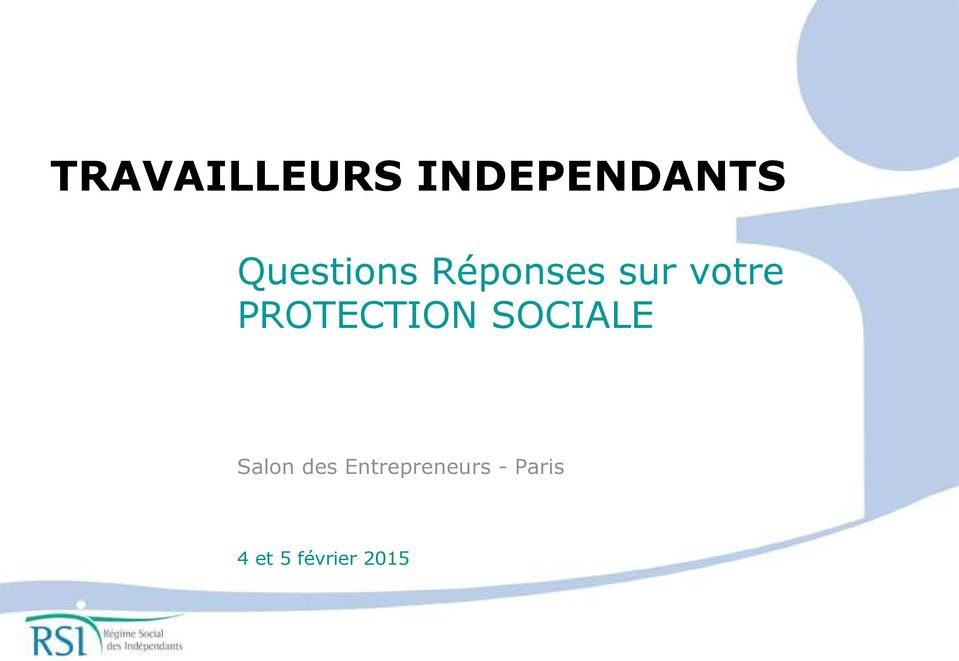 PROTECTION SOCIALE Salon des