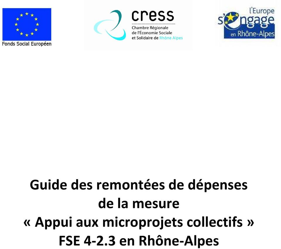 «Appui aux microprojets