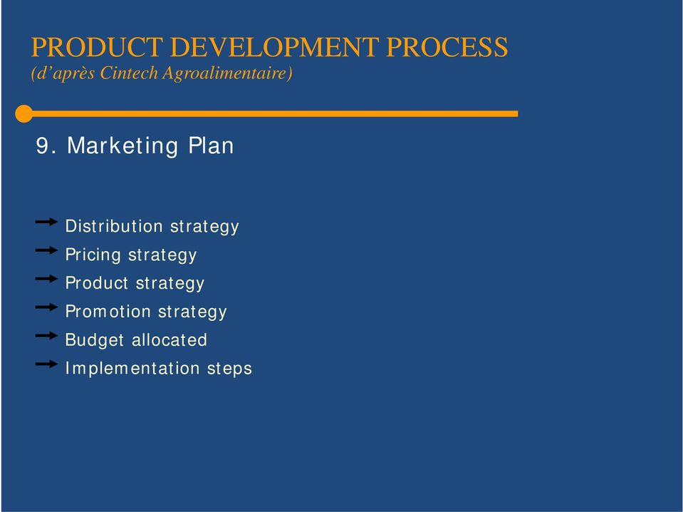Marketing Plan Distribution strategy Pricing