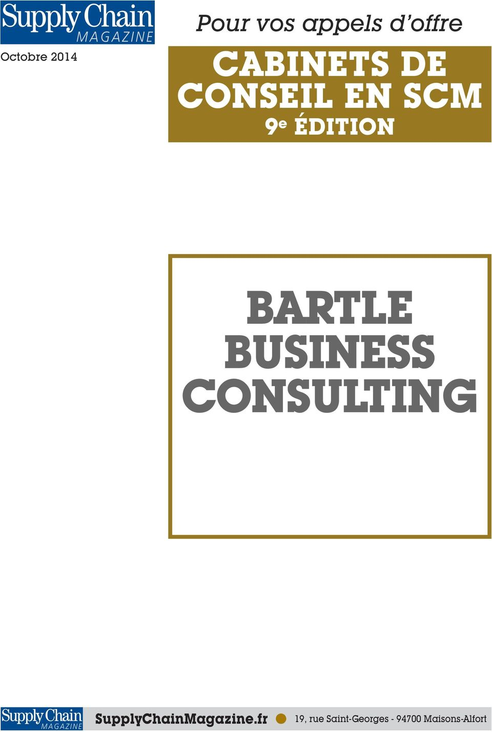 BARTLE BUSINESS CONSULTING
