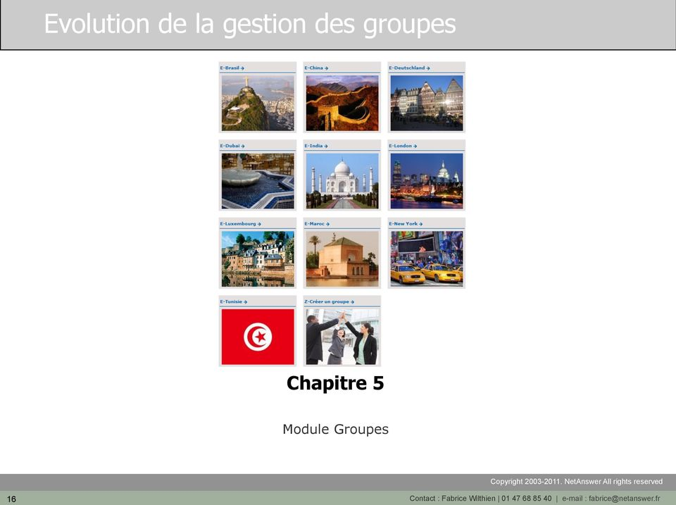 16 Contact : Fabrice Wilthien 01