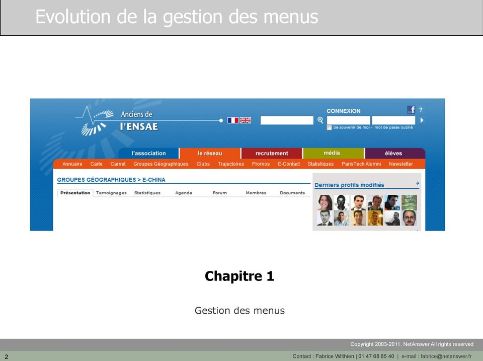 Contact : Fabrice Wilthien 01 47