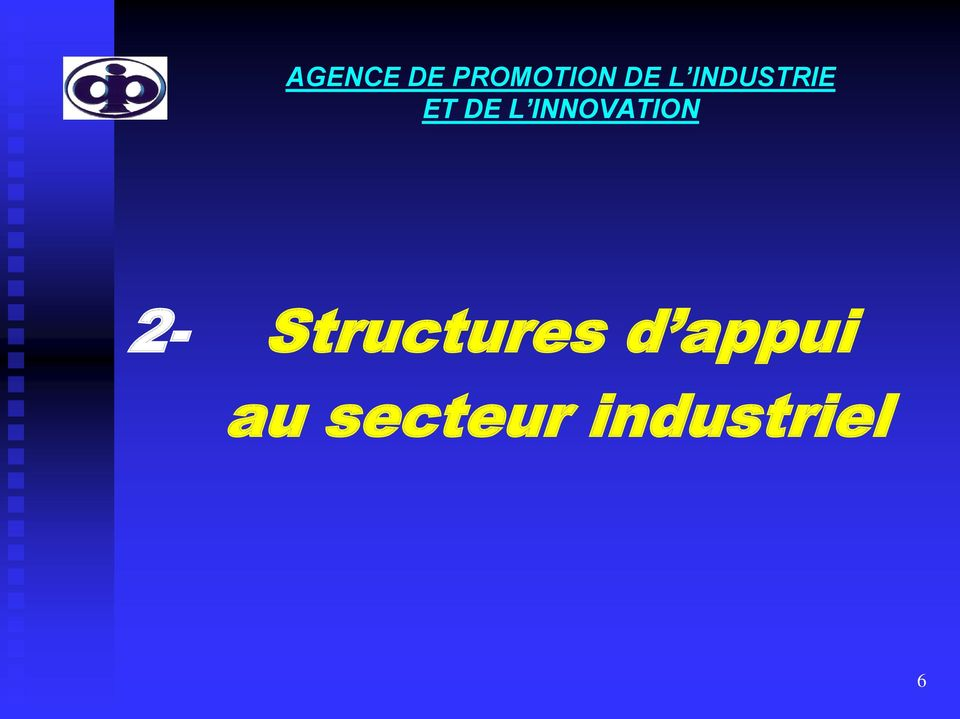 INNOVATION 2- Structures