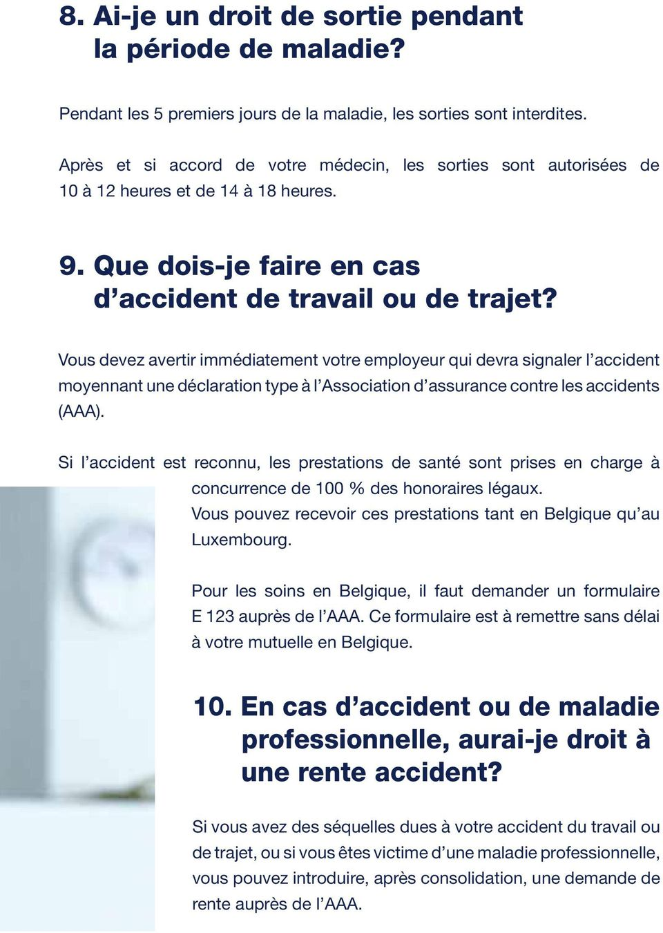 assurance accident luxembourg