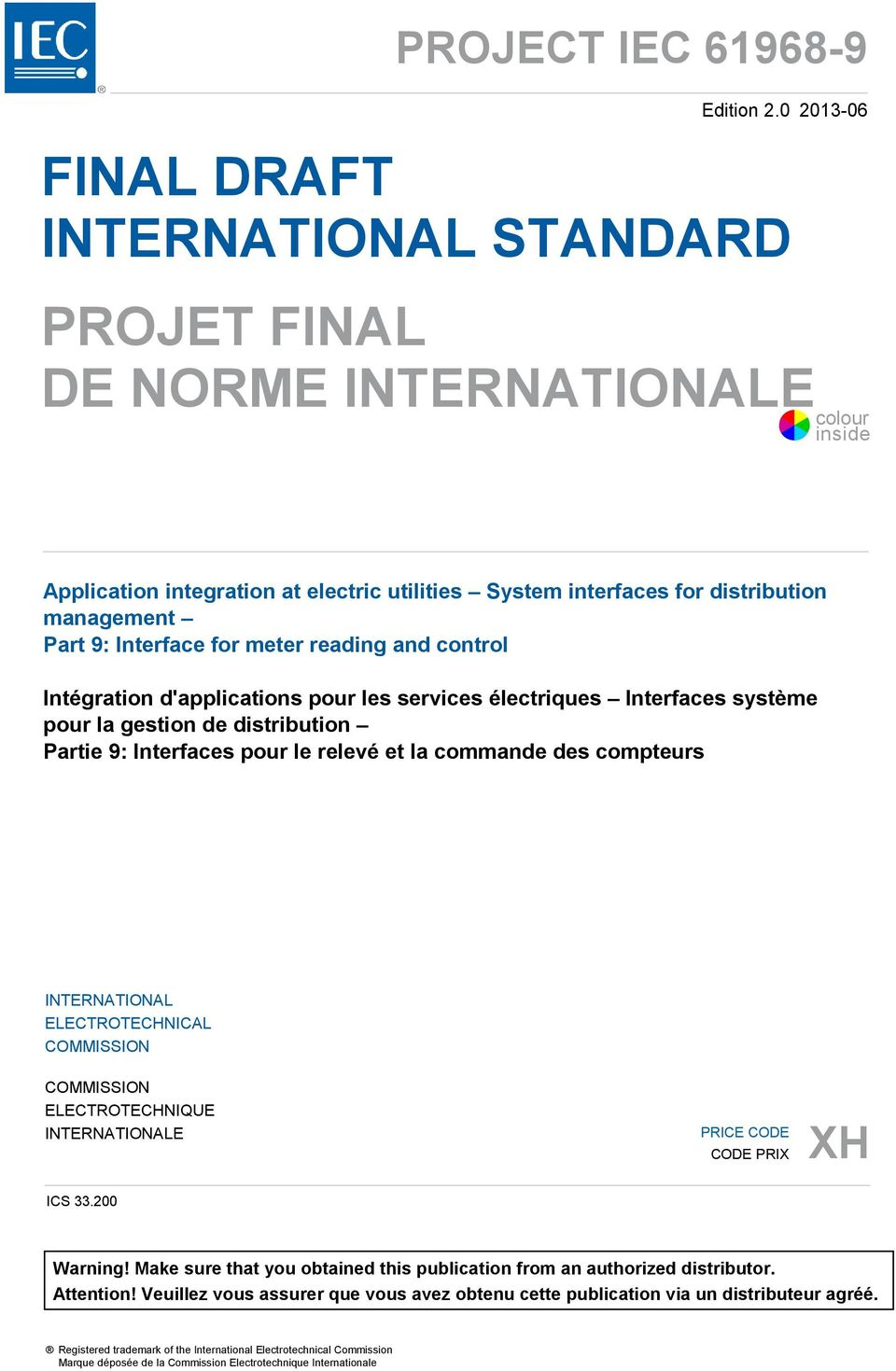 international electrotechnical commission standards pdf