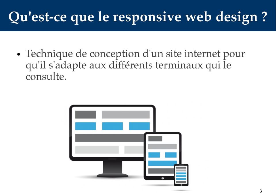 Technique de conception d'un site