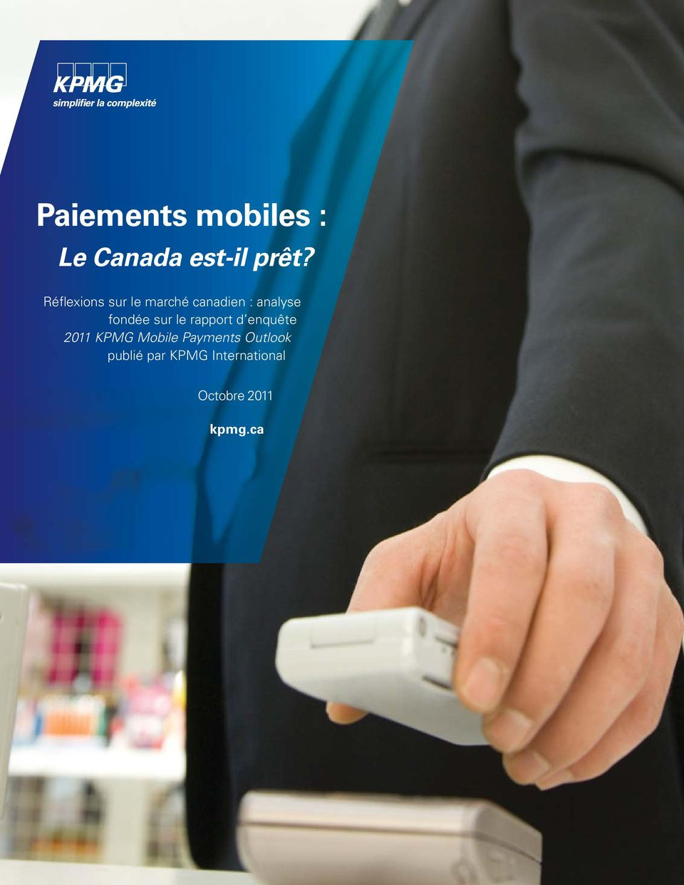 KPMG Additional Mobile information Payments in Outlook Univers publié 45 par Light KPMG