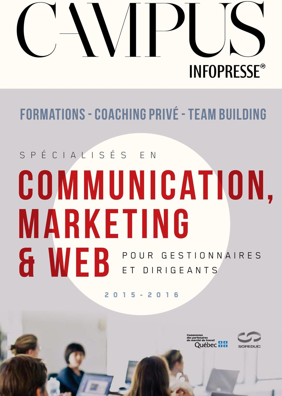 COMMUNICATION, MARKETING & WEB POUR