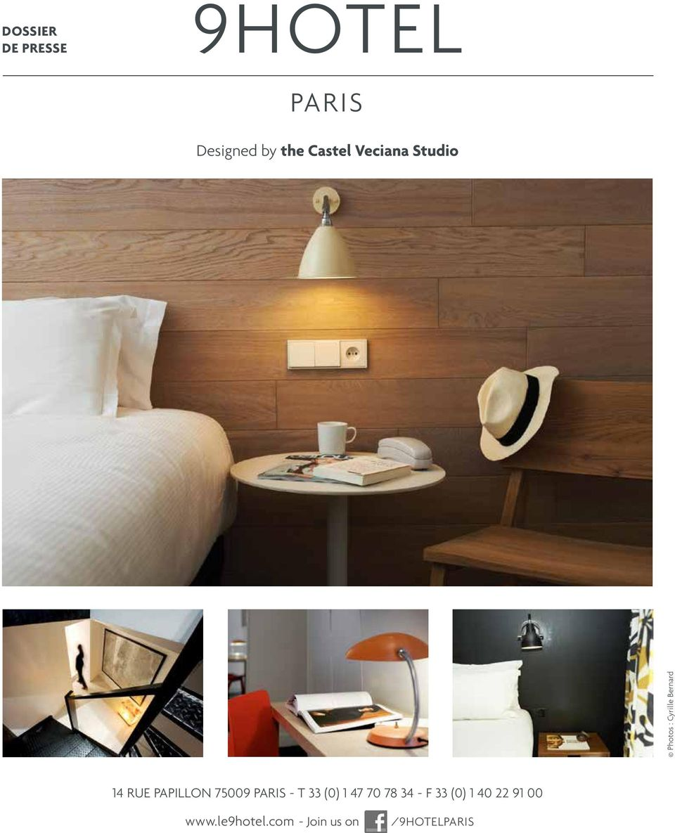 PAPILLON 75009 PARIS - T 33 (0) 1 47 70 78 34 - F 33