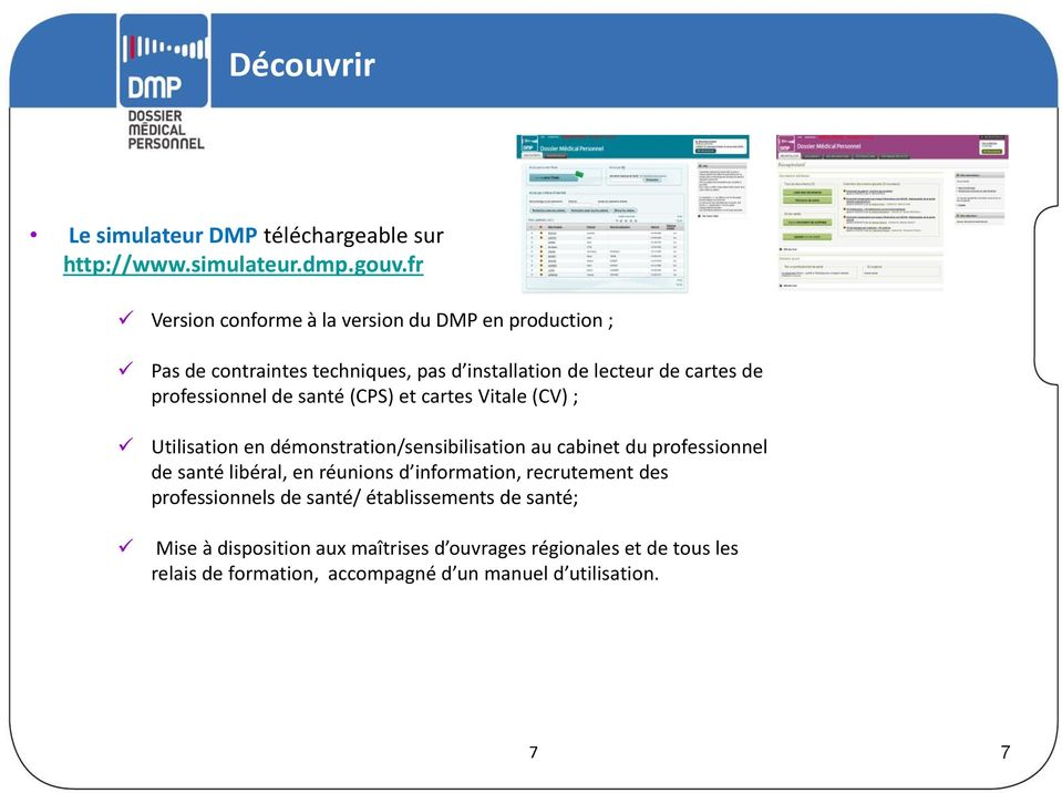 dmp  le dispositif d accompagnement