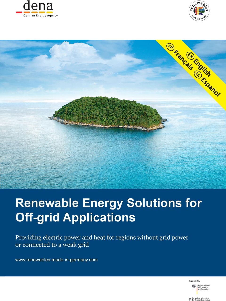 power and heat for regions without grid power or