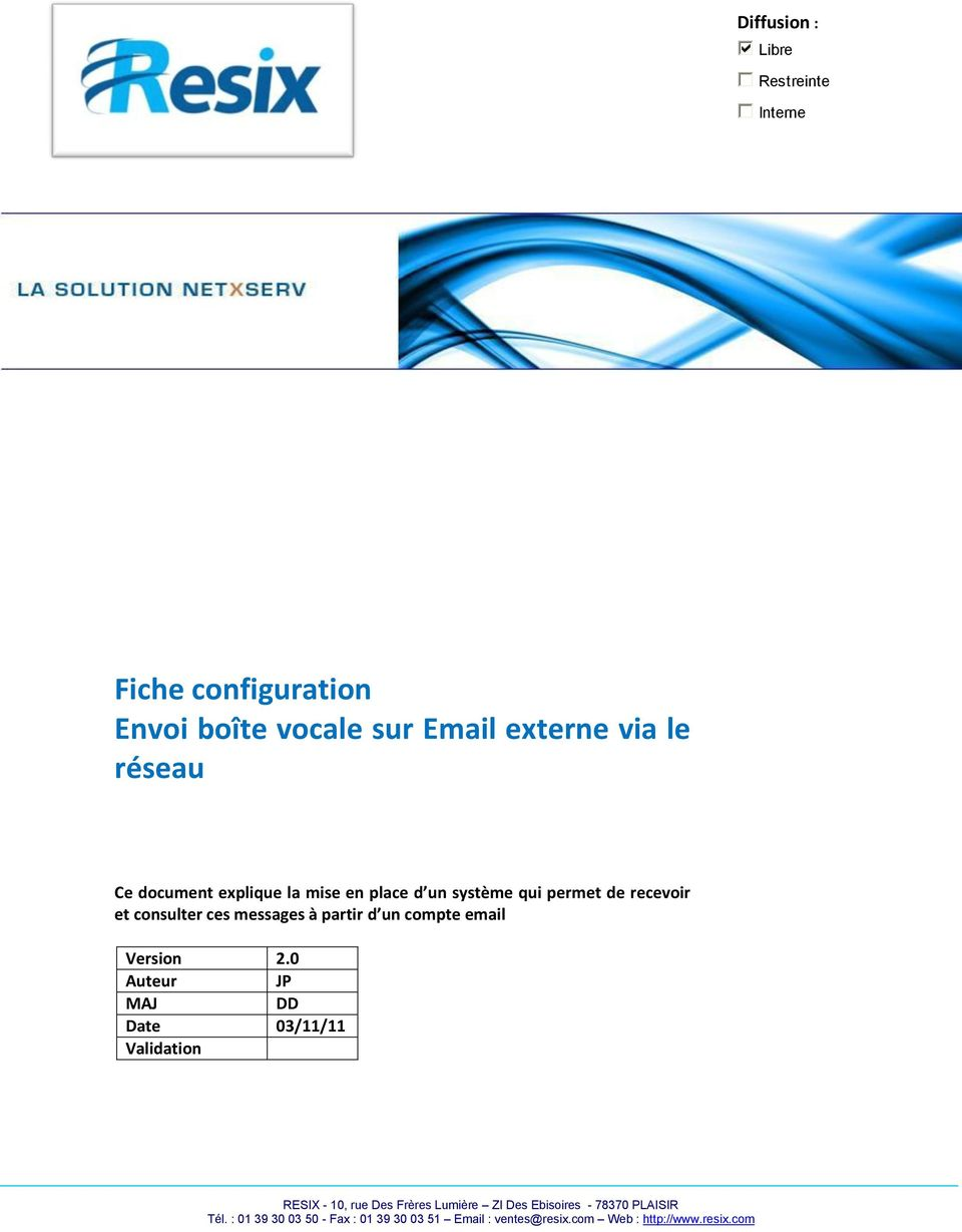 compte email Version 2.