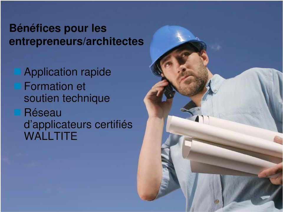 Application rapide Formation et