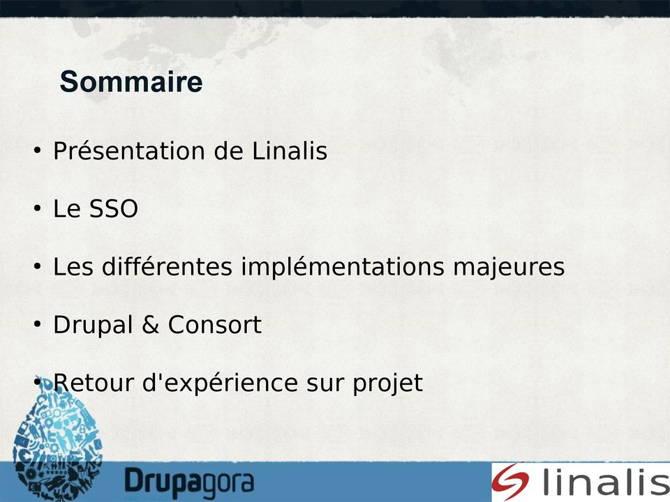 implémentations majeures Drupal