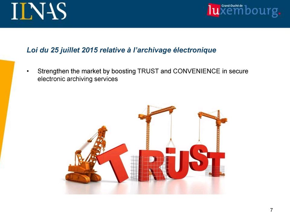 market by boosting TRUST and
