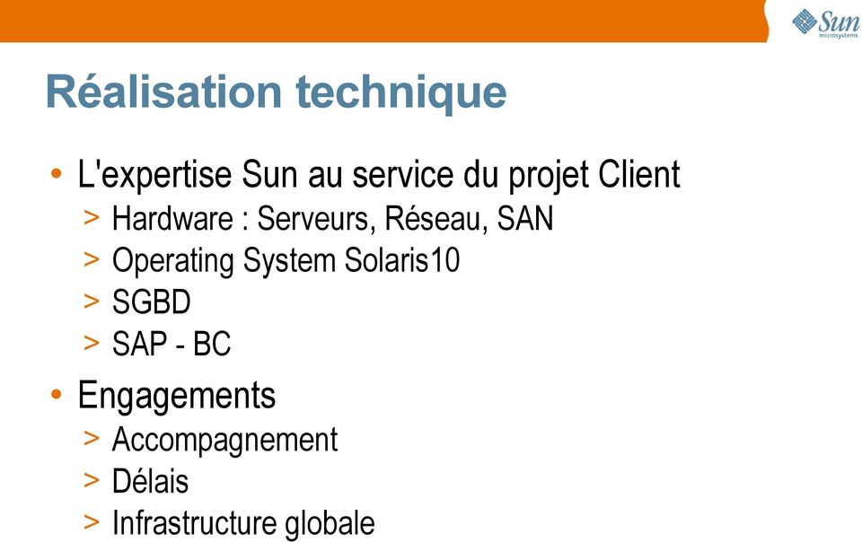 Operating System Solaris10 > SGBD > SAP - BC