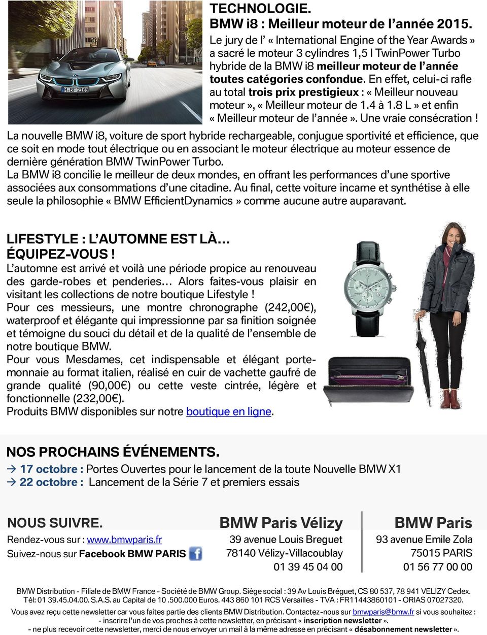 bmw paris bmw paris v lizy newsletter 7 dito pdf. Black Bedroom Furniture Sets. Home Design Ideas