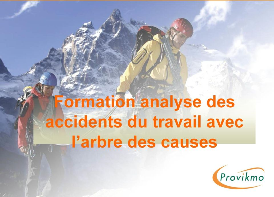 accidents du