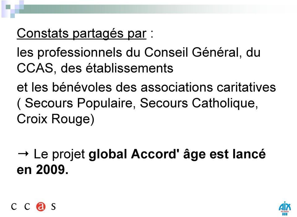 associations caritatives ( Secours Populaire, Secours