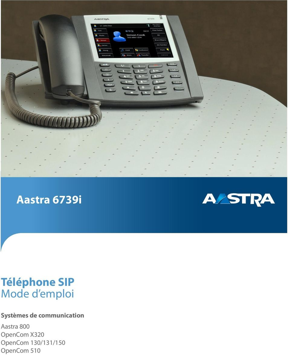 communication Aastra 800