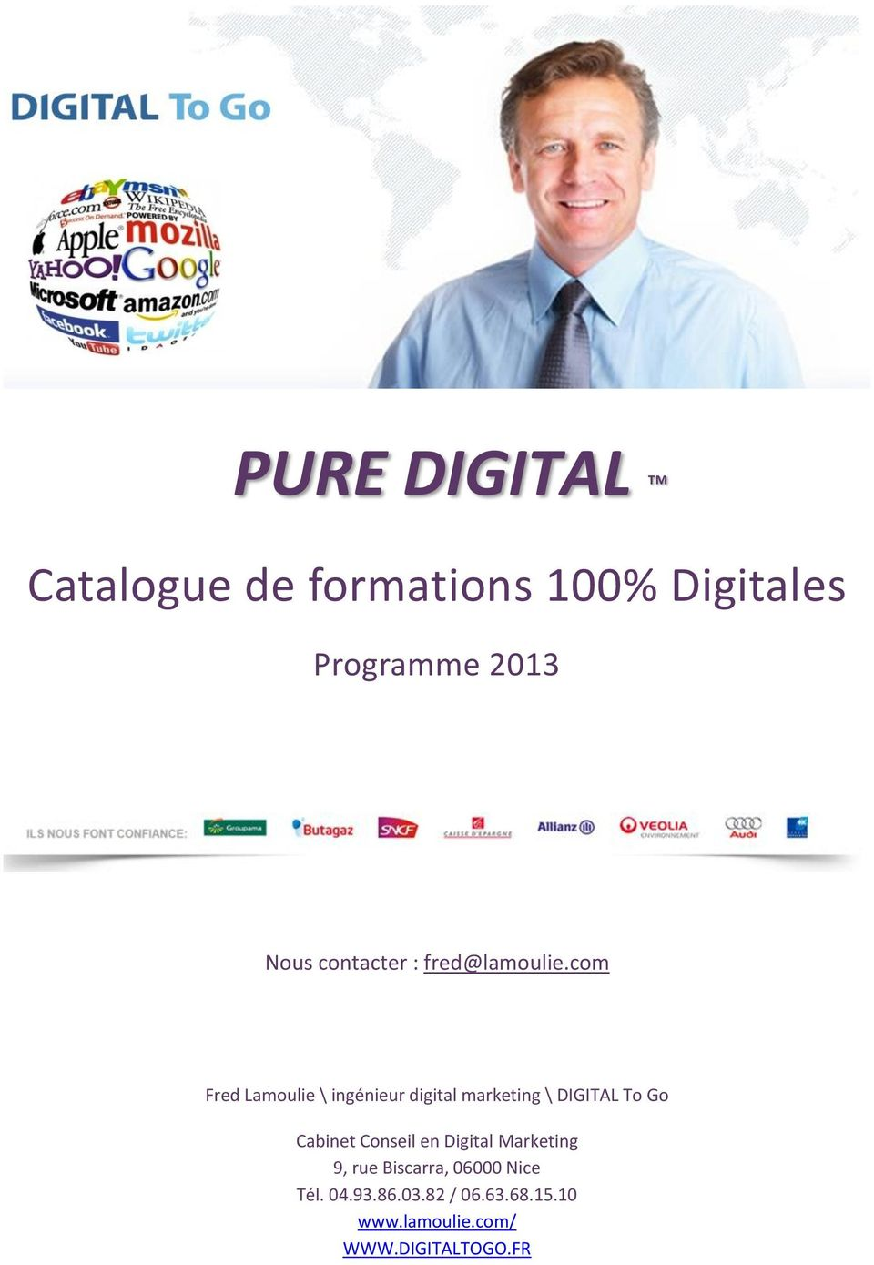 cm Fred Lamulie \ ingénieur digital marketing \ DIGITAL T G Cabinet