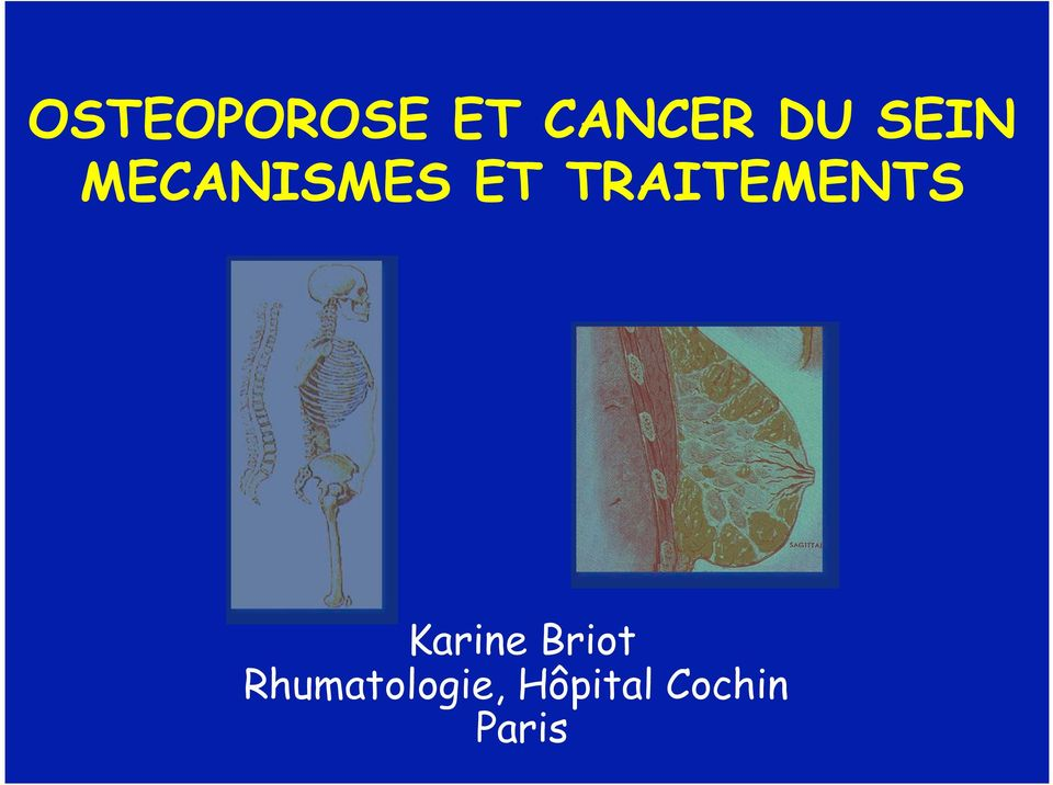 TRAITEMENTS Karine Briot