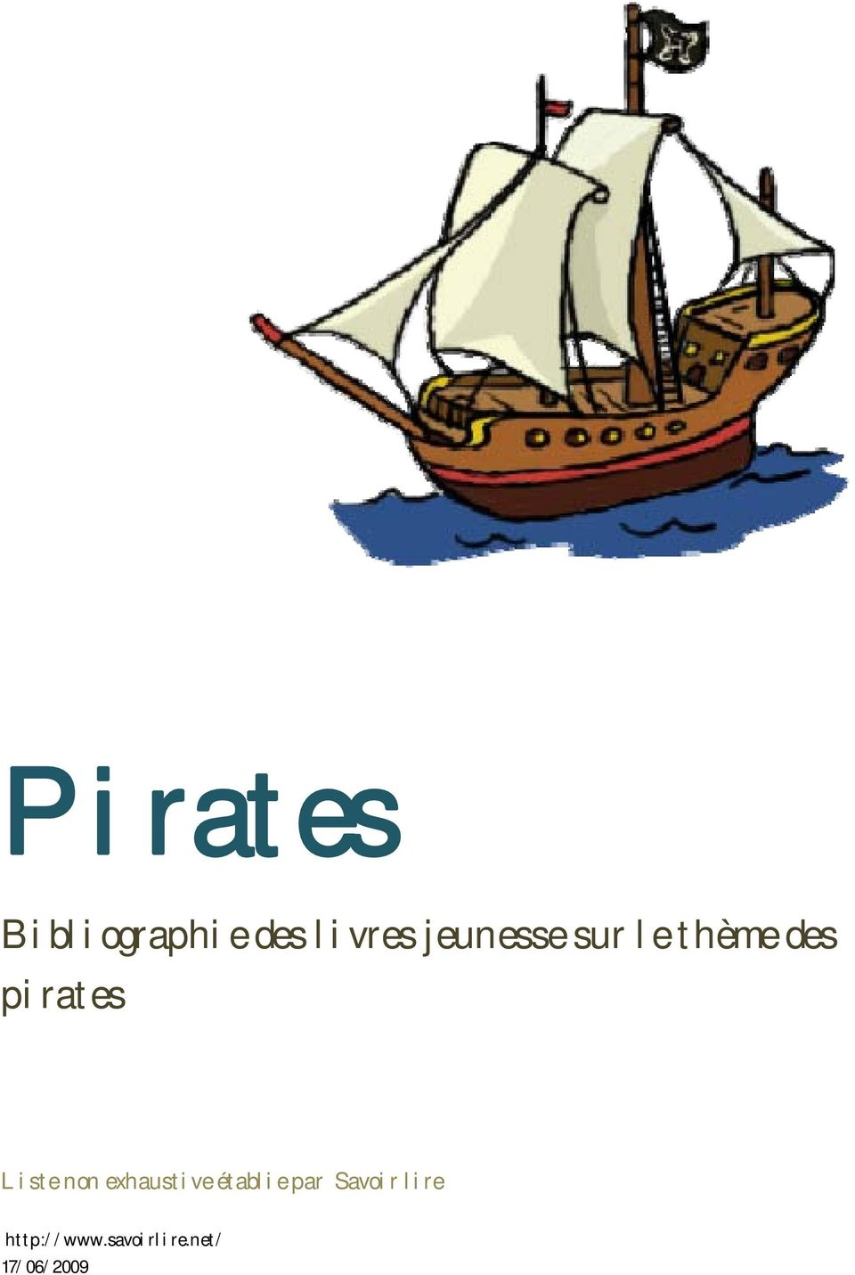 des pirates Liste non