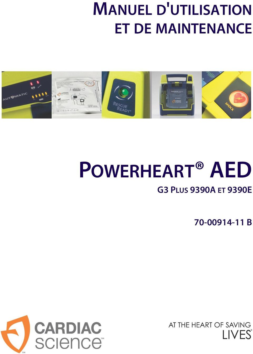 POWERHEART AED G3 PLUS