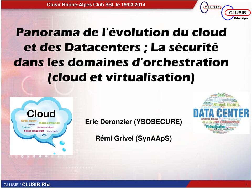 d'orchestration (cloud et virtualisation)