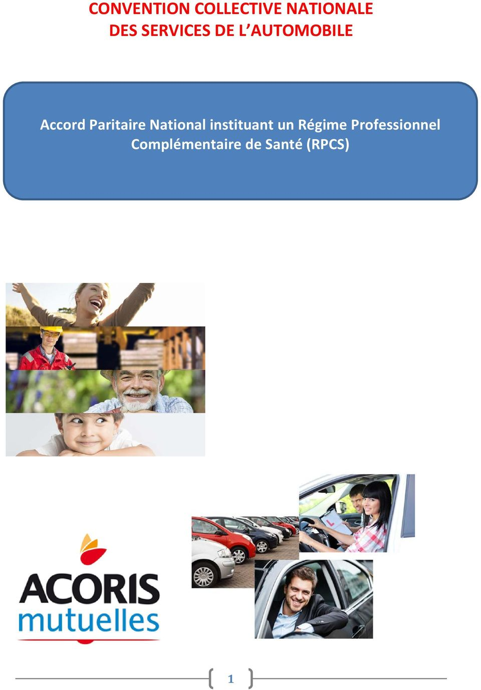 Paritaire National instituant un