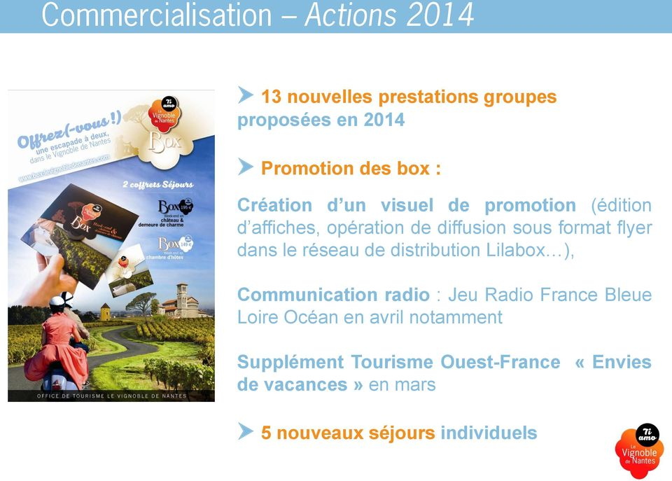 distribution Lilabox ), Communication radio : Jeu Radio France Bleue Loire Océan en avril
