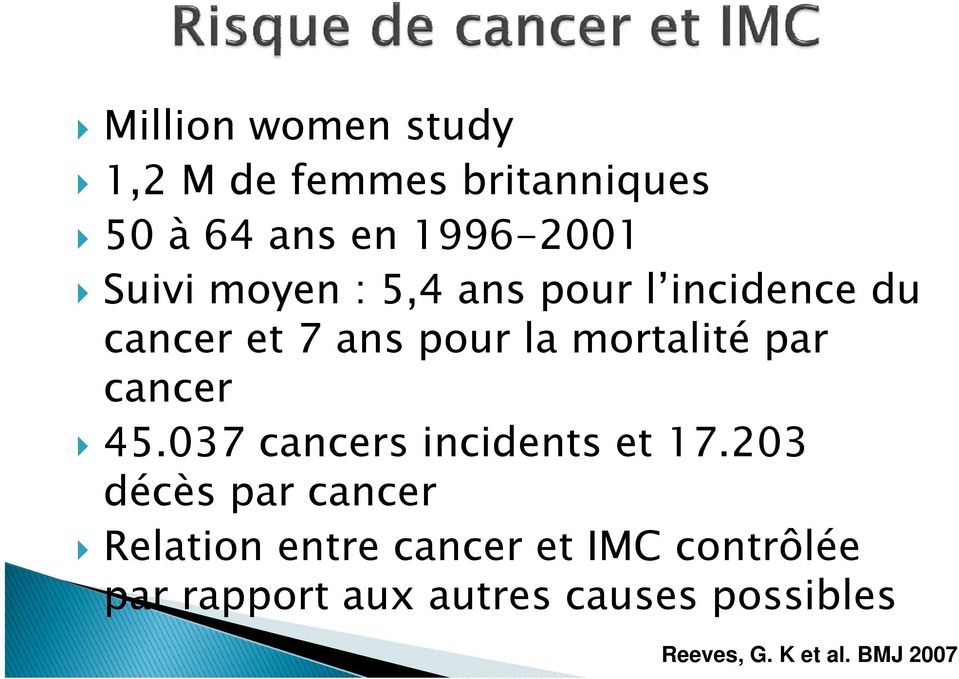 cancer 45.037 cancers incidents et 17.