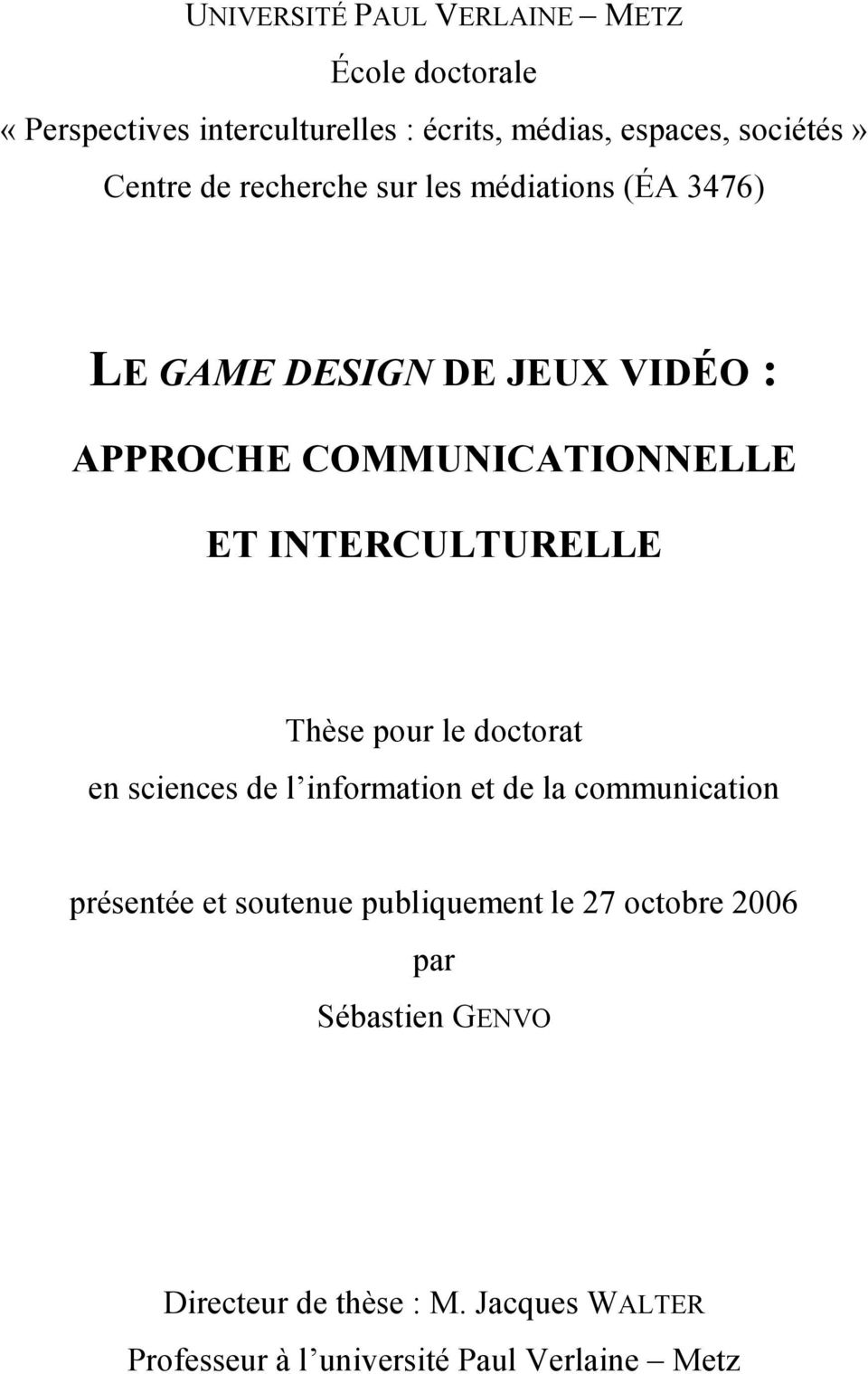 COMMUNICATIONNELLE ET INTERCULTURELLE Thè po doo d omo d ommo