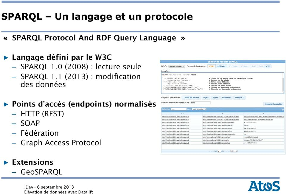 0 (2008) : lecture seule SPARQL 1.