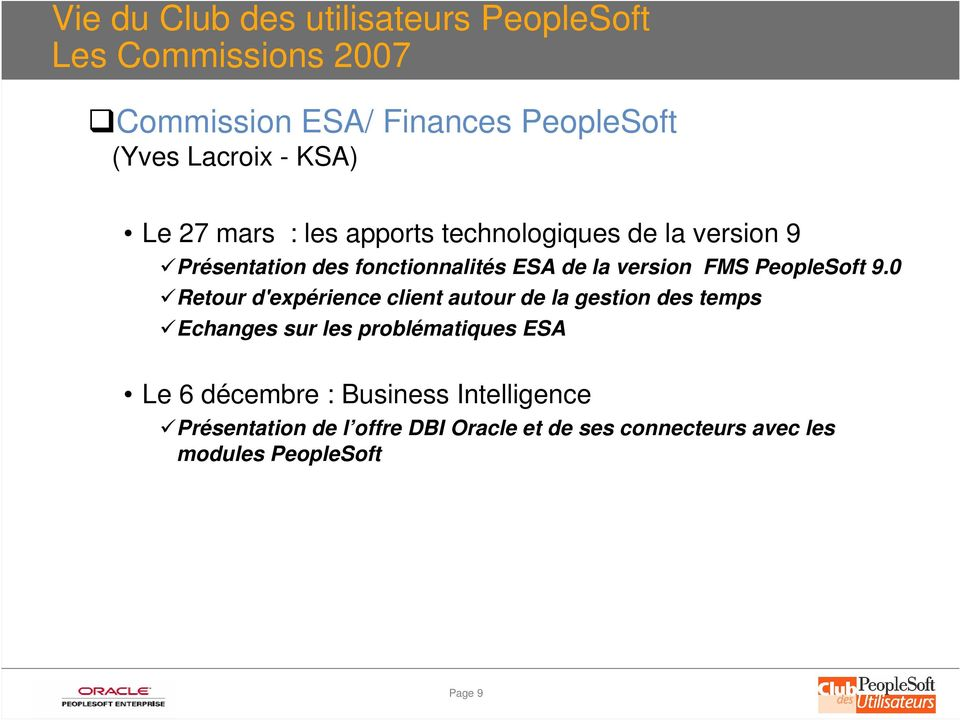 PeopleSoft 9.