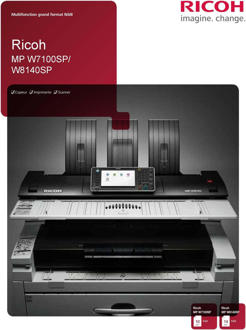 Imprimante Scanner Ricoh MP