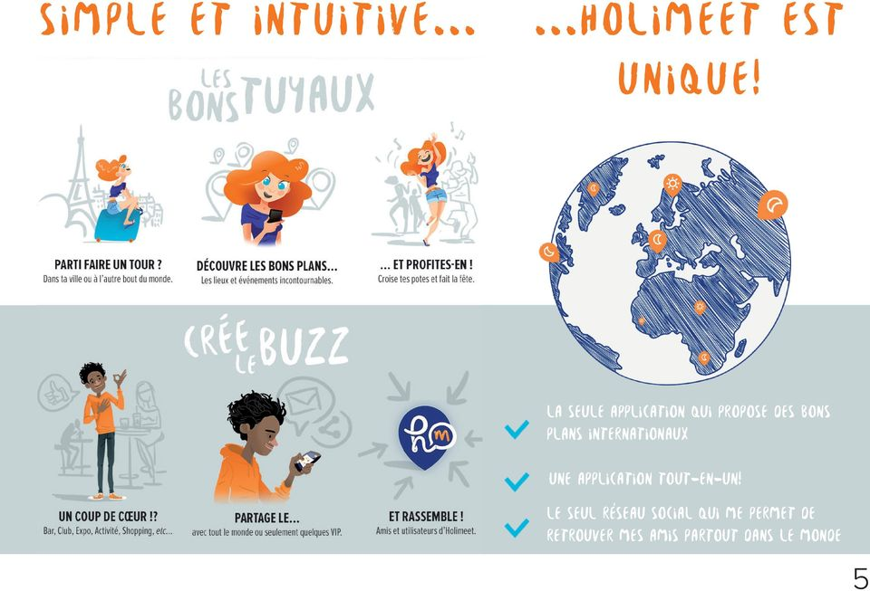 internationaux Une application tout-en-un!