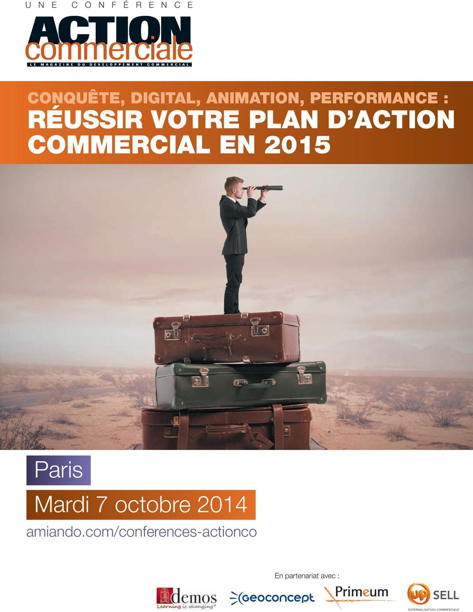 ACTION COMMERCIAL EN 2015 Paris Mardi 7 octobre