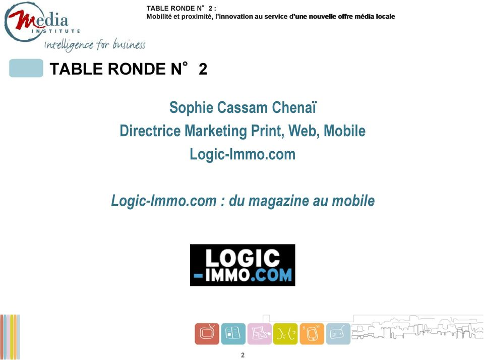 Print, Web, Mobile Logic-Immo.