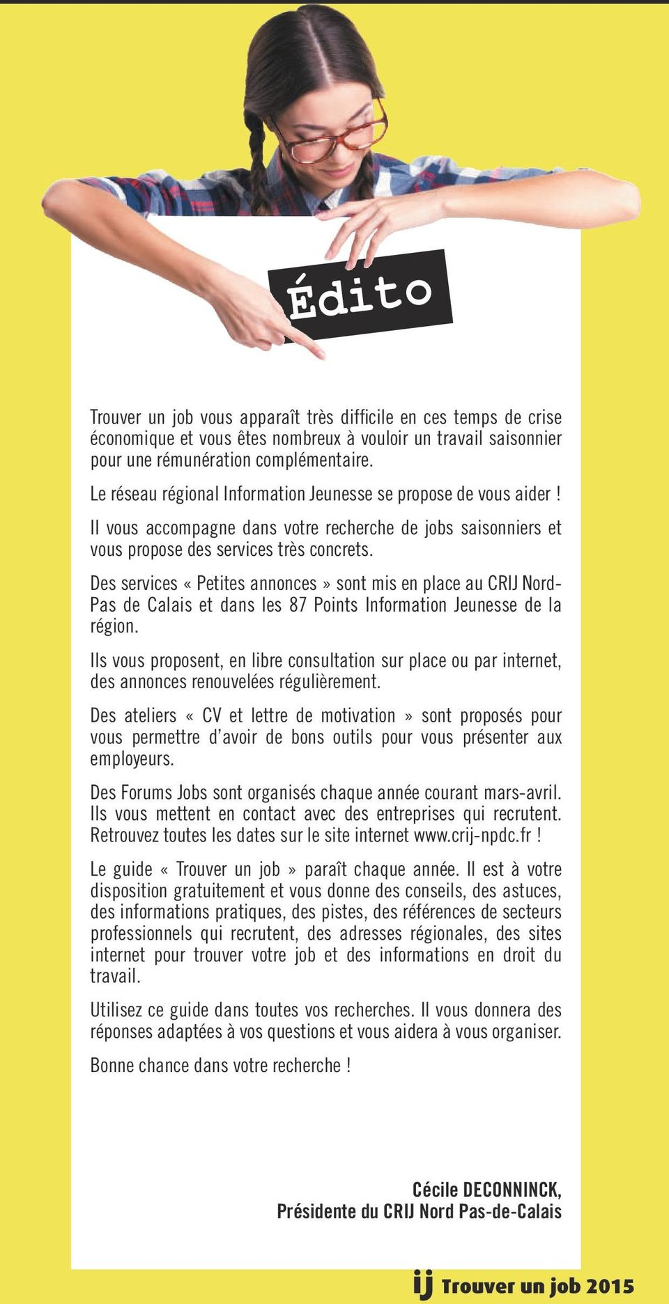 Trouver job nord pas de calais pdf for Job sur internet remunere