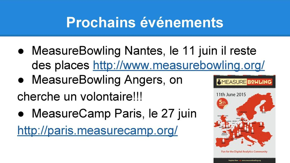 org/ MeasureBowling Angers, on cherche un volontaire!