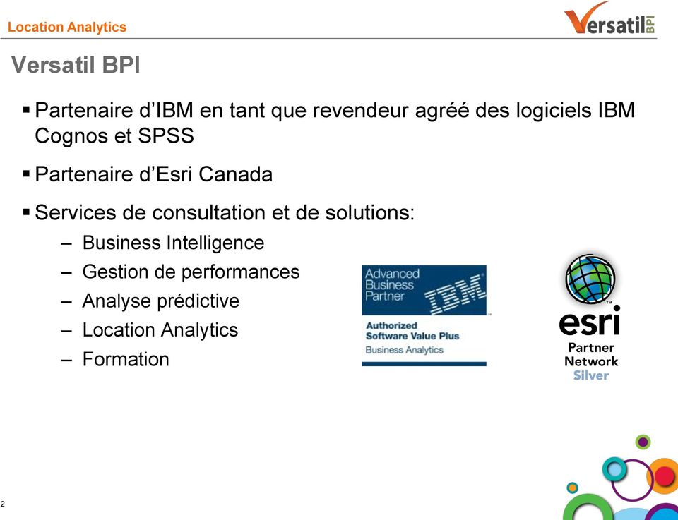 de consultation et de solutions: Business Intelligence Gestion