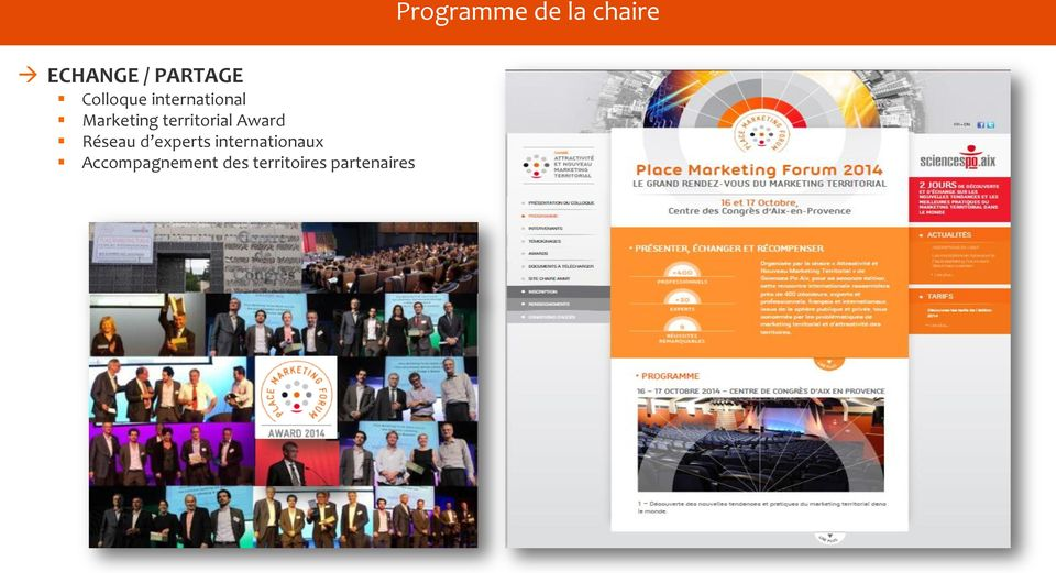 experts internationaux Accompagnement des