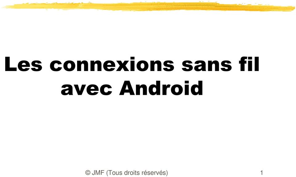 Android JMF