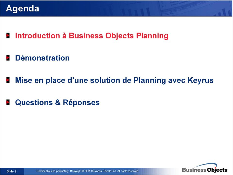 en place d une solution de Planning