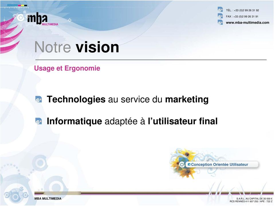 marketing Informatique adaptée à l
