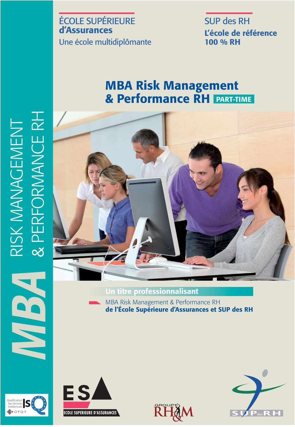 PART-TIME MBA RISK MANAGEMENT & PERFORMANCE RH Un titre