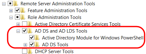 AD : Accès à Active Directory Sur un ordinateur Windows 7, installer les Remote Server Administration Tools (Windows6.1-KB958830-x64-RefreshPkg.