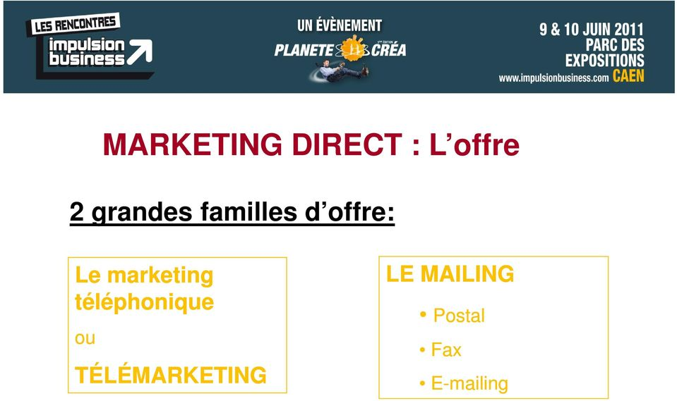 marketing téléphonique ou